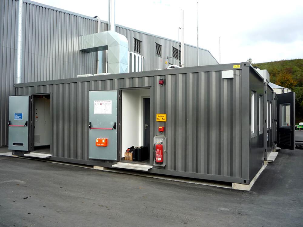 Individuelle Technikcontainer