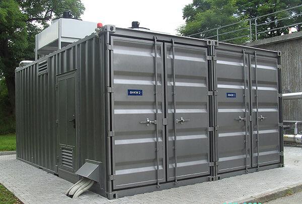 Die praktischen Technikcontainer, wenn die Standardmaße aus breiter Serien-Palette passen (8 - 45 ft.)