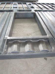 Unser Stahlbau: große Öffnung mit Flansch? Kein Problem für uns.